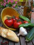 Marisa Ingredientes de gazpacho