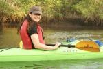Jessica in Kayak